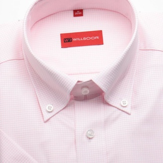 Men shirt WR Slim Fit with short sleeve (height 176/182) 1165