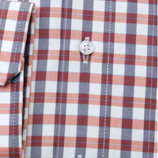 Men's classic shirt with check pattern 11683, Willsoor