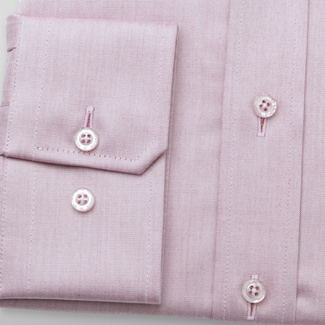 Men's slim fit shirt in light purple 11696, Willsoor