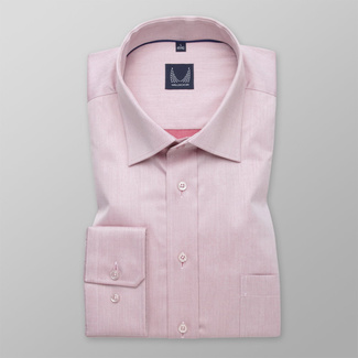 Men's slim fit shirt in light purple 11697, Willsoor