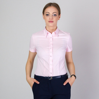 Women's shirt in light pink 11755, Willsoor