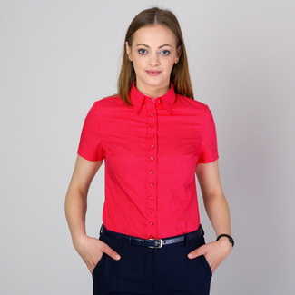 Women's shirt in red 11757, Willsoor