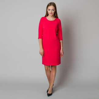 Midi dress in raspberry color 11903, Willsoor