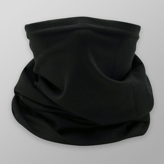 Multi-purpose black scarf with smooth pattern 12041