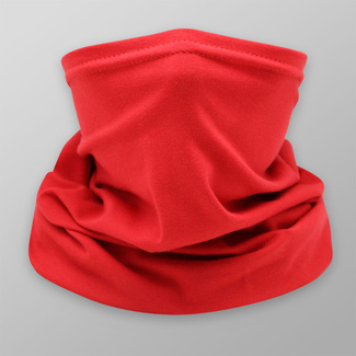 Multi-purpose red scarf with smooth pattern 12042