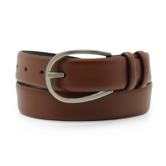 Women's leather belt in brown color 12241