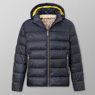 Men' quilted jacket Redpoint Ross dark blue 12411, Willsoor