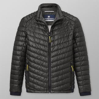 Men' quilted jacket Redpoint dark blue 12414, Willsoor
