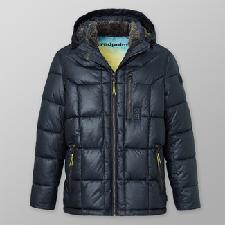 Men's quilted jacket Redpoint Preston dark blue 12415