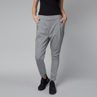 Women' stylish trousers in light grey color 12462, Willsoor