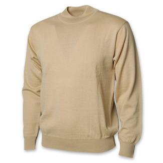 Men's low turtleneck in beige 12469, Willsoor