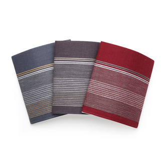 Handkerchiefs grey, brown and red color 12587