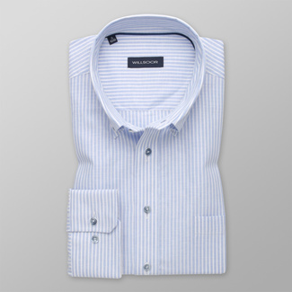 Men's shirt classic with fine stripes 12598, Willsoor