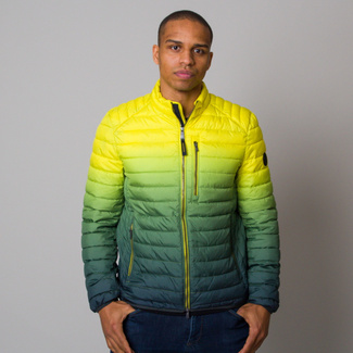 Men's quilted jacket with ombre pattern Casa Moda 12602