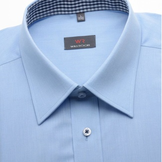 Men light blue classic shirt (height 188/194) 1416