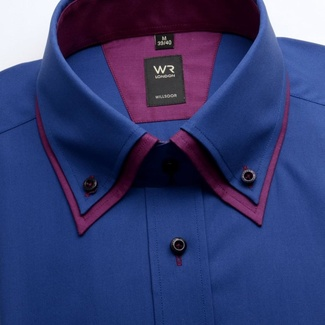 Men shirt WR London dark blue (height 176-182) 1697