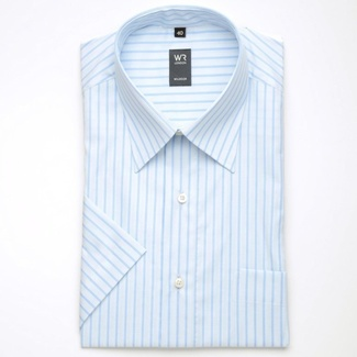 Men shirt WR London white-blue (height 176-182) 1703