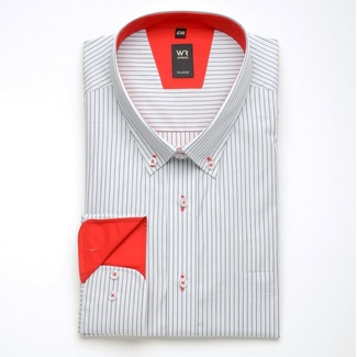 Men shirt WR London with strip (height 176/182 a 188/194) 1713