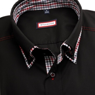 Men classic shirt WR Classic (height 176-182) 1941 in black color