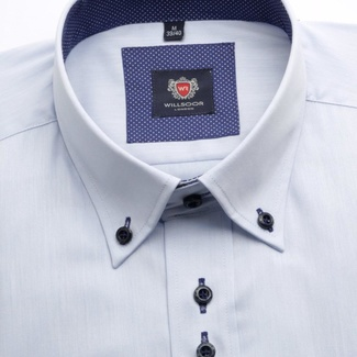 Men shirt WR London in blue color (height 188-194) 4525