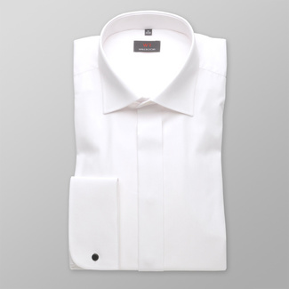 Men shirt WR Classic in white color (all height) 4574