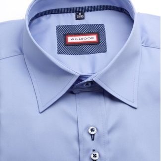 Men shirt WR Classic in blue color (height 188-194) 4579