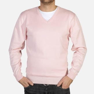 Men pullover Willsoor 4883 with neck to