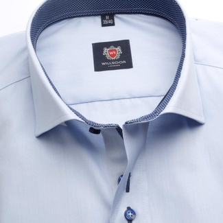 Men shirt WR London in light blue color (height 176-182) 4935