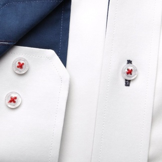 Men shirt WR Classic in white color (height 176-182) 5026
