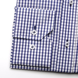 Men shirt WR London in white color with checked (height 198-204) 5105