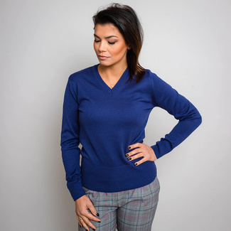 Women's sweater Willsoor 5145 in blue color