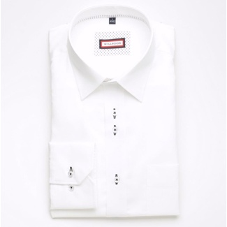Men shirt WR Slim Fit in white color (height 176-182) 5162