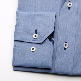 Men shirt WR Classic in blue color (height 188-194) 5175