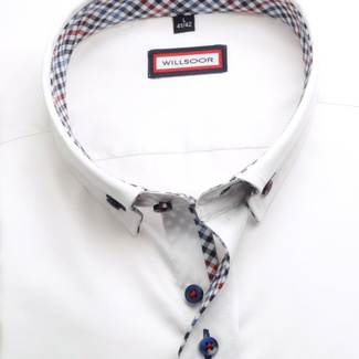 Men shirt WR Classic in white color (height 176-182) 5244