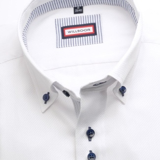 Men shirt WR Classic in white color (height 176-182) 5317