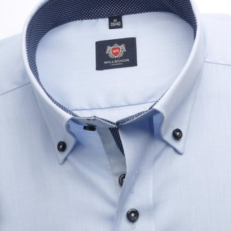 Men shirt WR London in blue color (height 176-182) 5343