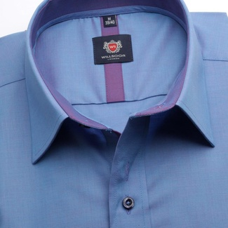 Men shirt WR London in blue color (height 176-182) 5348
