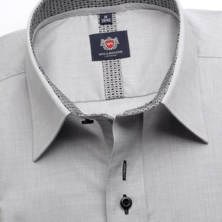 Men shirt WR London in gray color (height 176-182) 5352