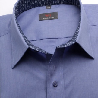 Men shirt WR Slim Fit in blue color (height 176-182) 5353