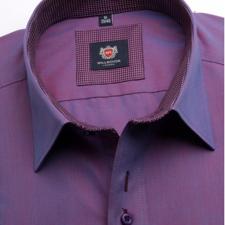 Men shirt London in purple color (height 188-194) 5434