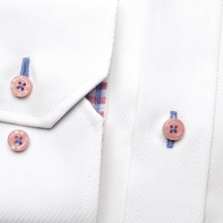 Men shirt London in white color (height 176-182) 5443, Willsoor