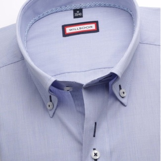 Men shirt Classic in blue color (height 176-182) 5456