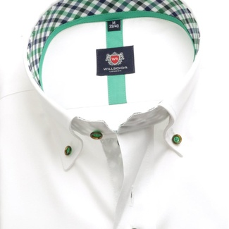 Men shirt London in white color (height 176-182) 5499