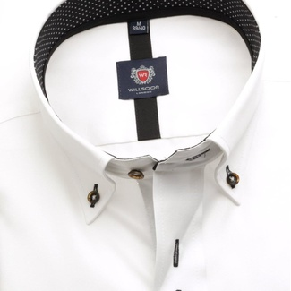 Men shirt London in white color (height 176-182) 5505