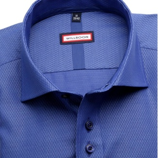 Men shirt Slim Fit in blue color (height 176-182) 5538