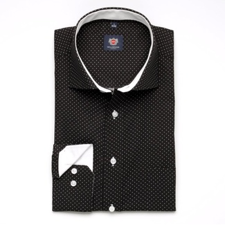 Men shirt London in black color (height 176-182) 5576