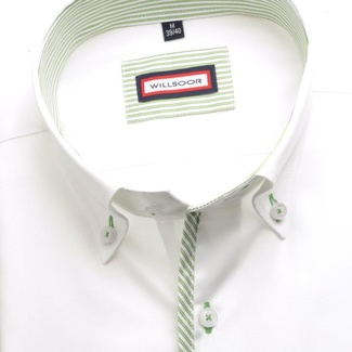 Men shirt Classic (height 176-182) 5624 in white color