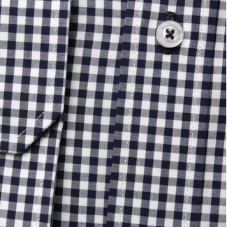 Men shirt Slim Fit (height 176-182) 5731 in blue color with checked