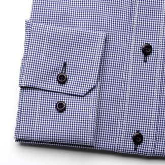 Men shirt Slim Fit (height 164-170) 5784 in blue color