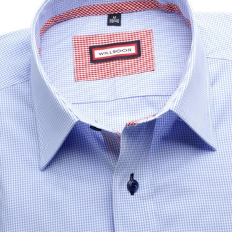 Men shirt Slim Fit (height 188-194) 5786 in blue color